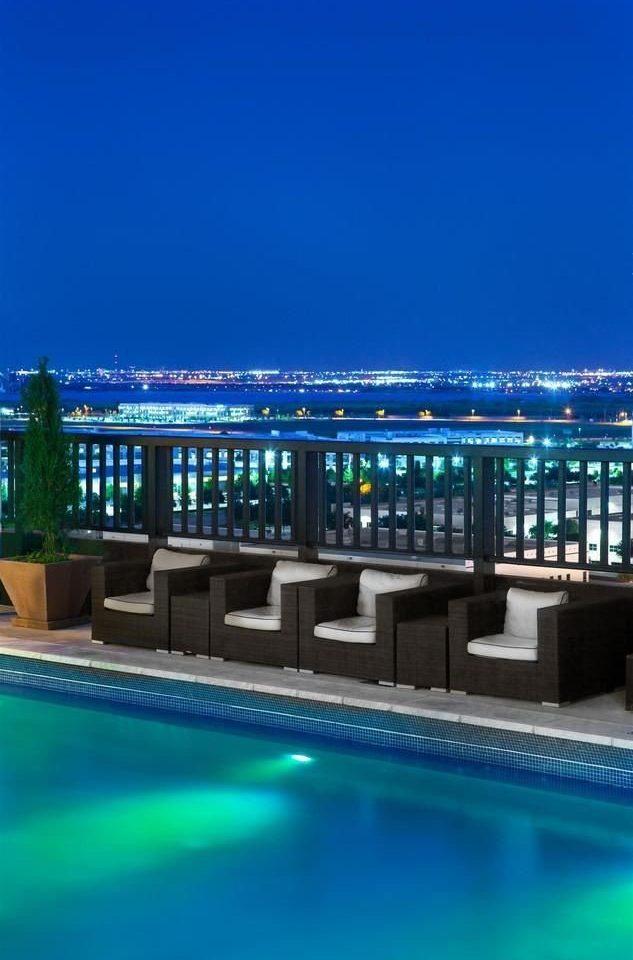 swimming pool leisure centre sport venue condominium blue