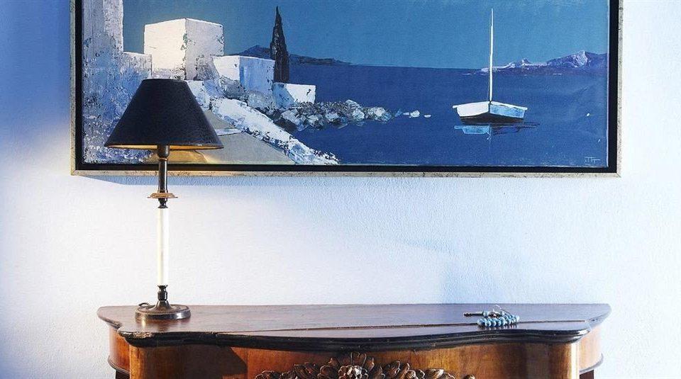 blue lighting shape display device lamp