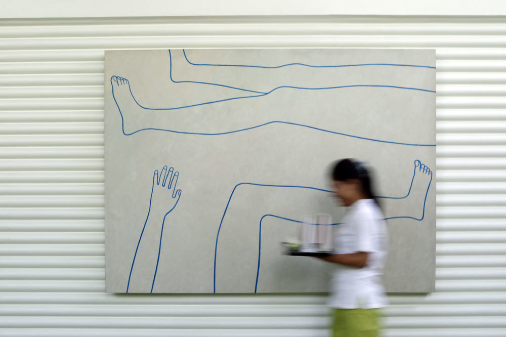 blue whiteboard drawing line sketch writing illustration material