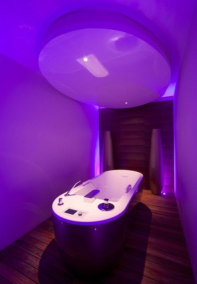 swimming pool blue purple light toilet lighting shape jacuzzi