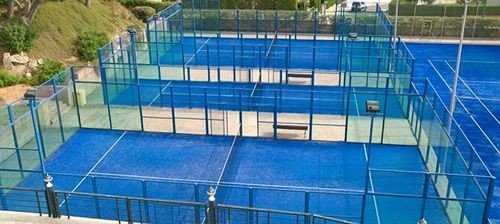 blue structure swimming pool sport venue leisure centre net tennis court sports
