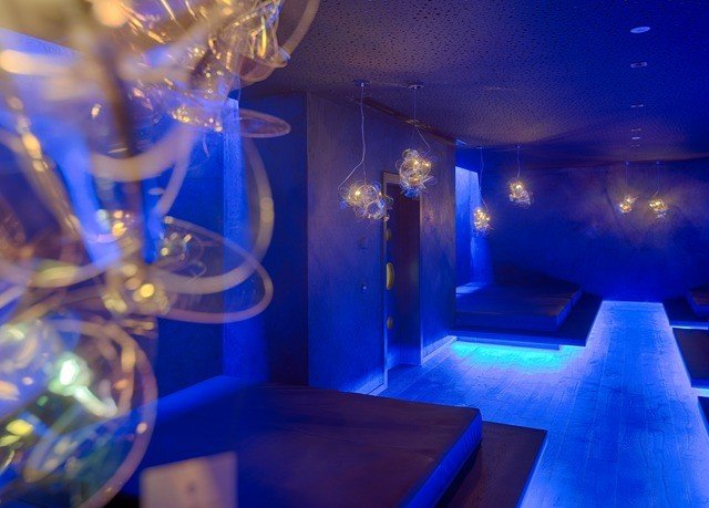 blue light lighting nightclub lit