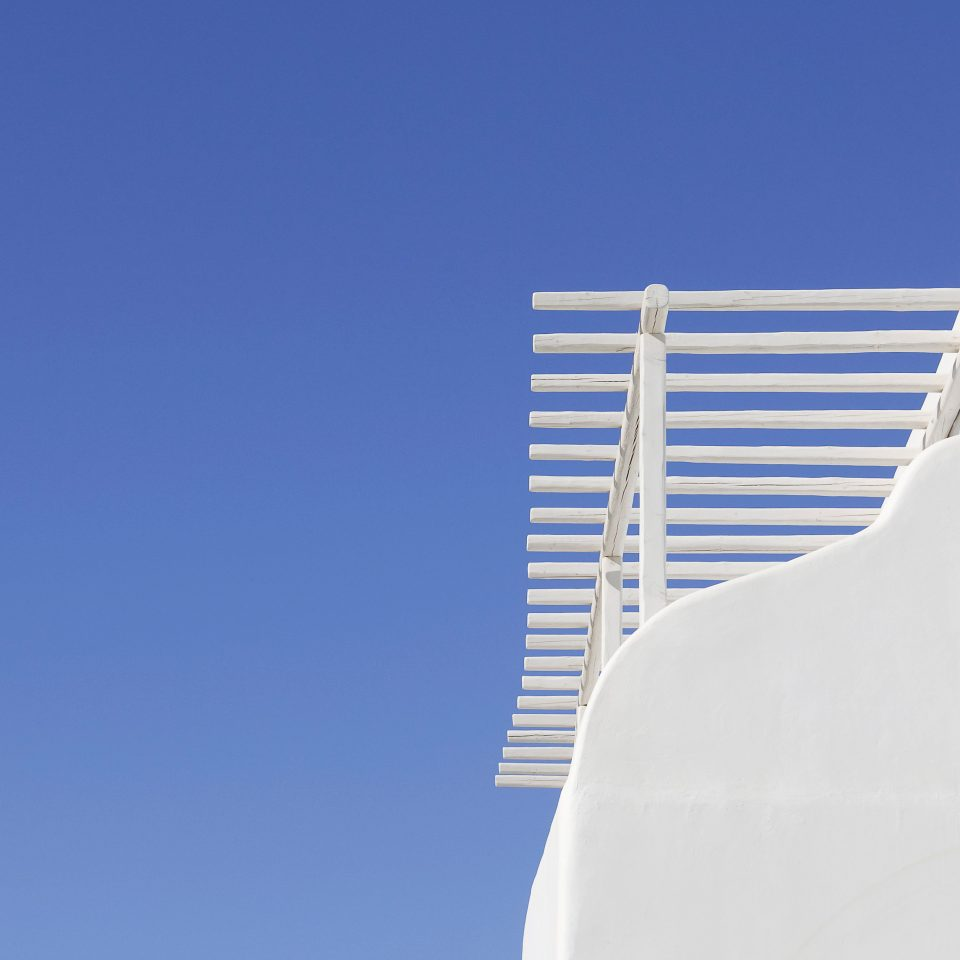 sky blue white wind seat