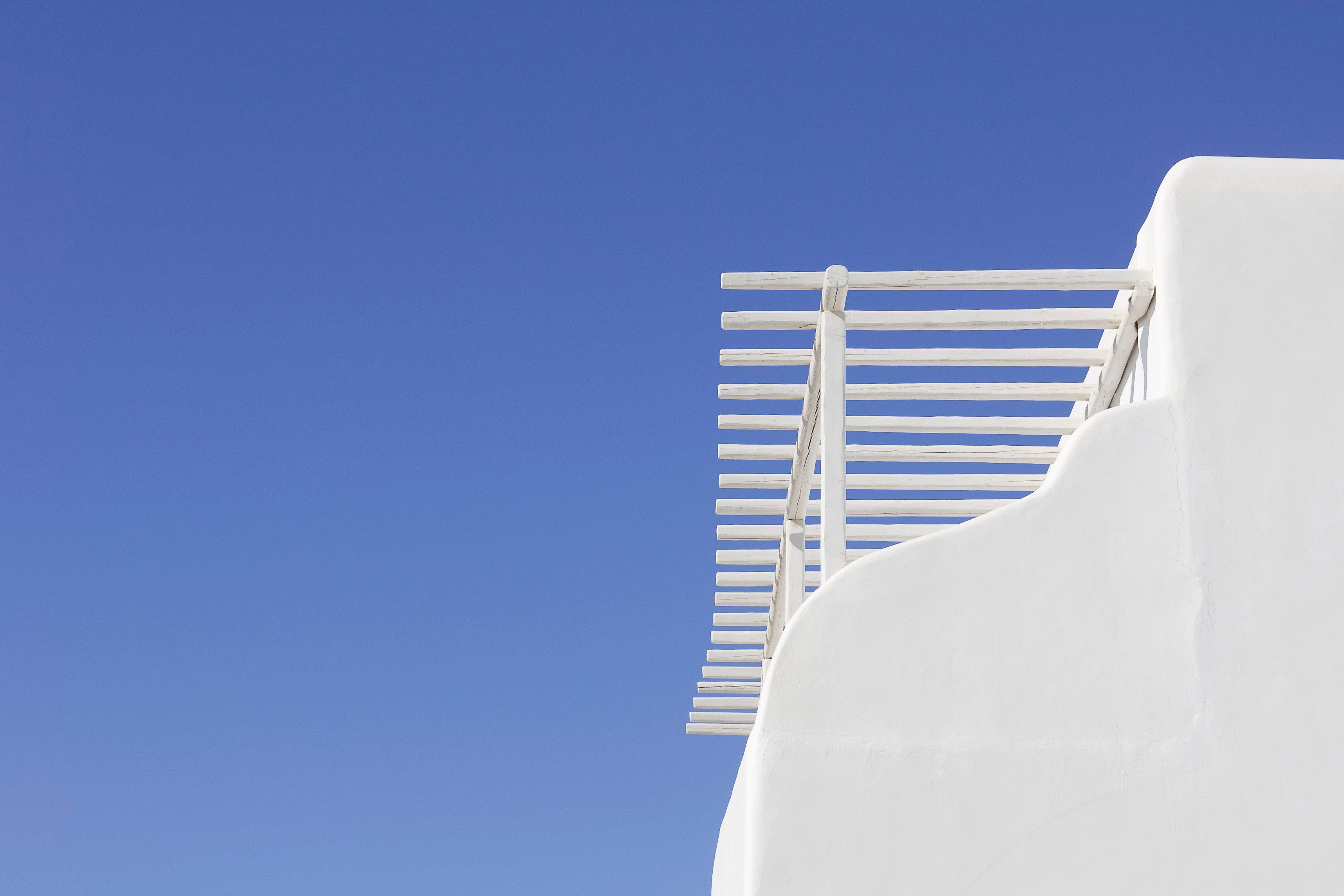 sky blue white wind seat