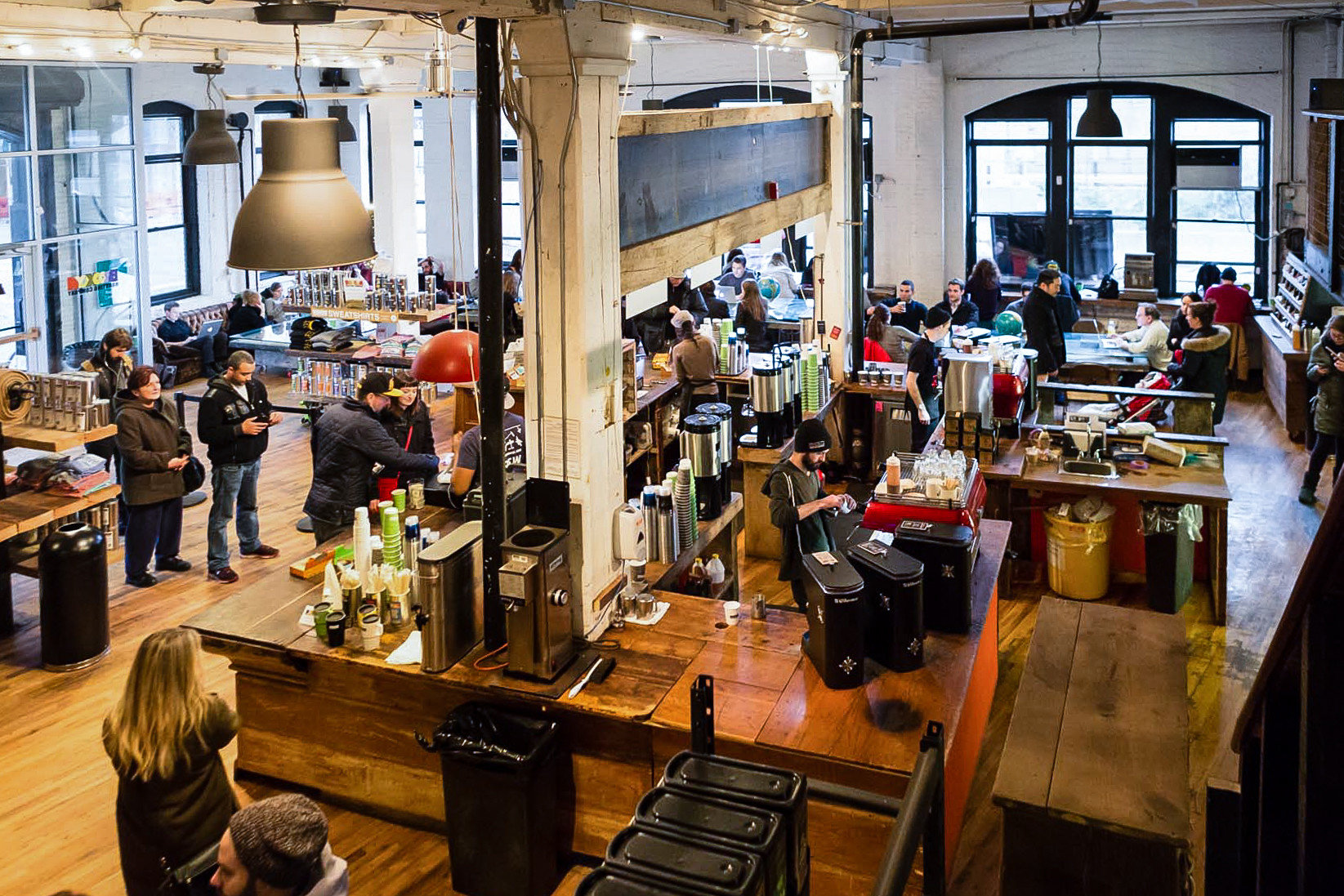 Brooklyn City Food + Drink NYC indoor cluttered
