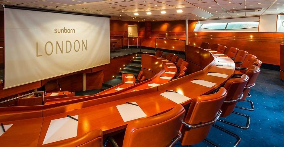 Boat conference hall vehicle auditorium theatre yacht recreation room