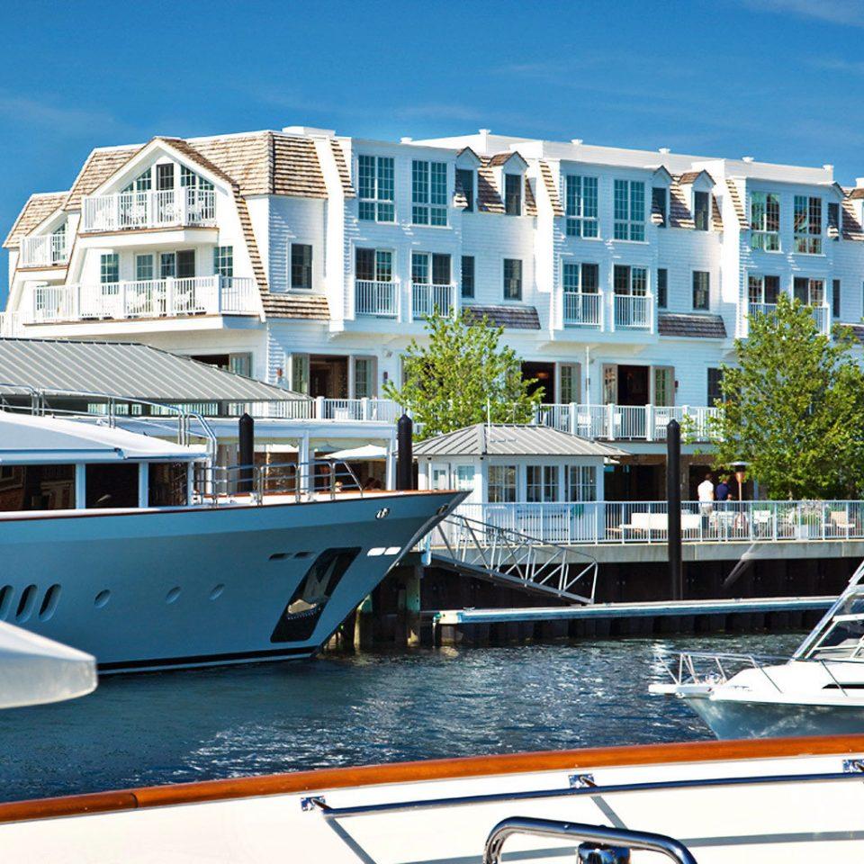 Buildings Resort Boat water marina vehicle passenger ship dock docked yacht ship luxury yacht watercraft waterway Harbor