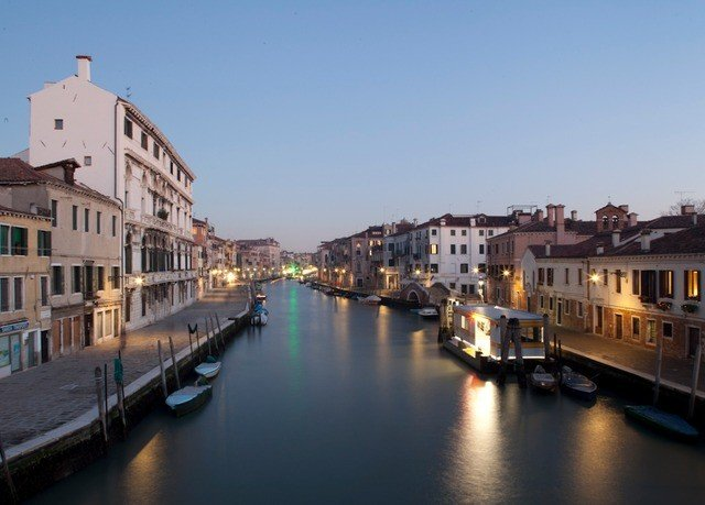 sky water Canal Town scene waterway River Harbor vehicle cityscape channel evening Sea port Boat