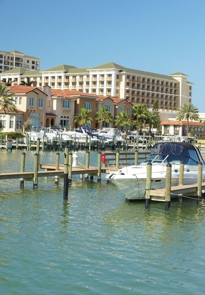 building water Boat marina Town dock house vehicle Harbor waterway Sea channel docked Canal