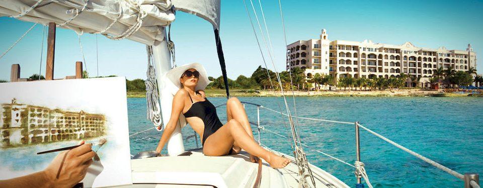 sky water Boat leisure watercraft caribbean sailing vessel