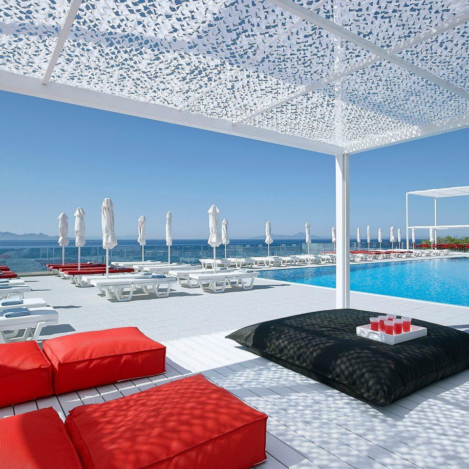 chair Boat passenger ship yacht vehicle swimming pool luxury yacht marina ship orange