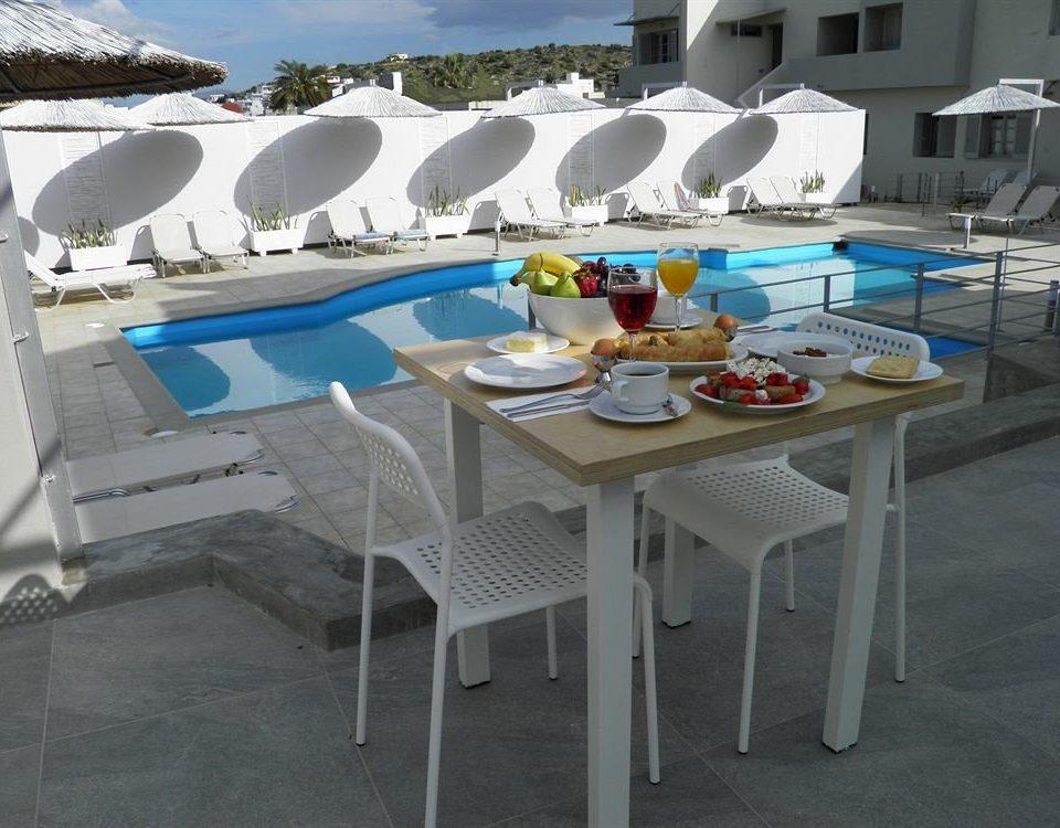 chair property swimming pool passenger ship vehicle Boat yacht set
