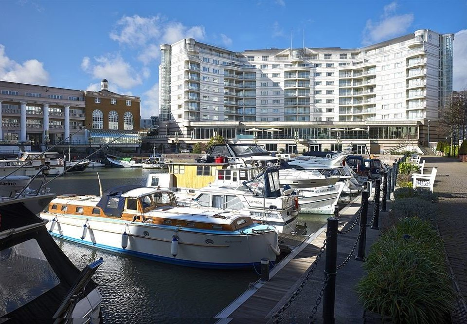sky building Boat marina dock vehicle Harbor waterway City watercraft