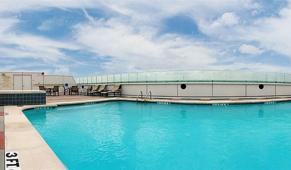 City Modern Pool sky water swimming pool blue Boat swimming Sea Resort