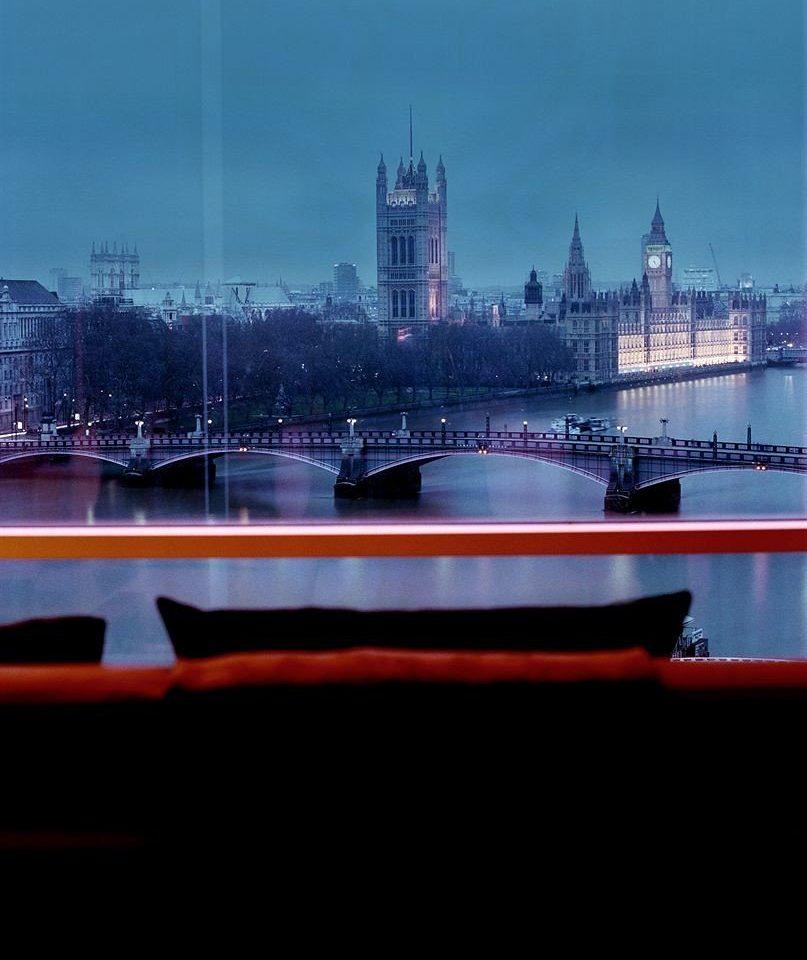water Boat skyline City landmark horizon River night cityscape dusk evening vehicle skyscraper Sea distance