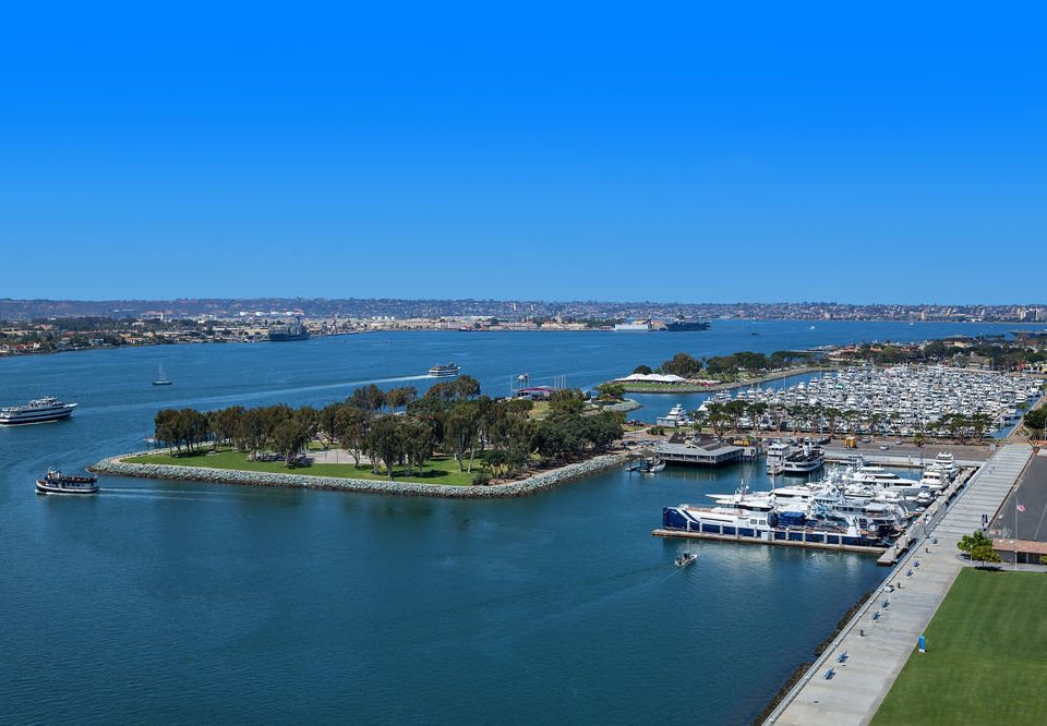 water sky Boat Sea scene Coast marina Harbor horizon shore dock channel port Ocean aerial photography cape cove Lake docked land
