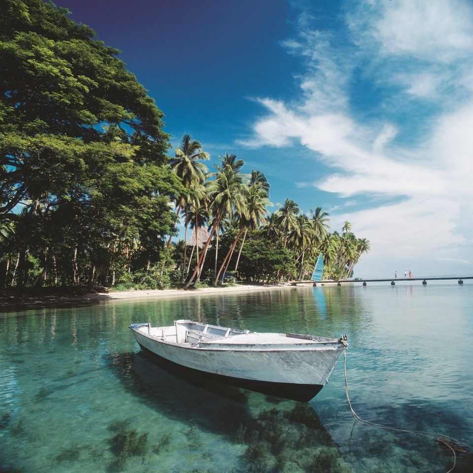 Water Sky Boat Nature Sea Tropics Caribbean Coastal And Oceanic Landforms Arecales Tree Palm Shore