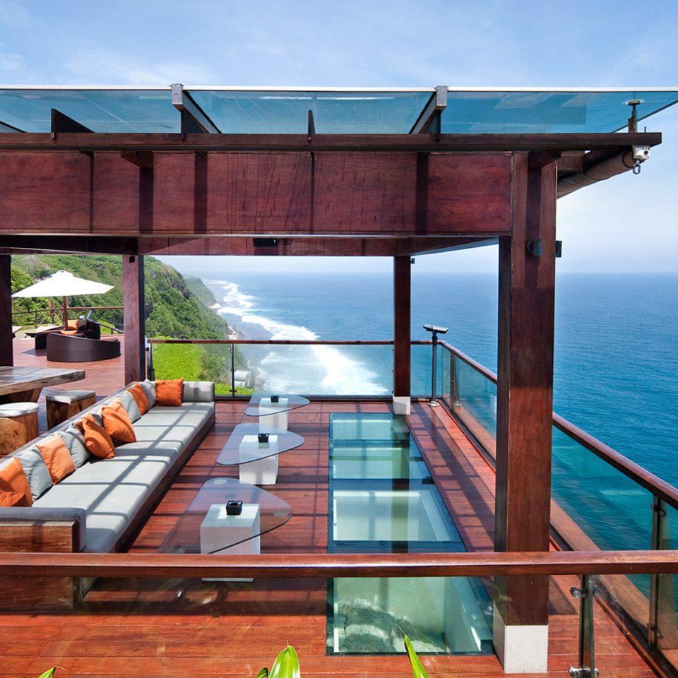 Honeymoon Luxury Pool Romance sky water wooden swimming pool outdoor structure Resort overlooking Deck Boat