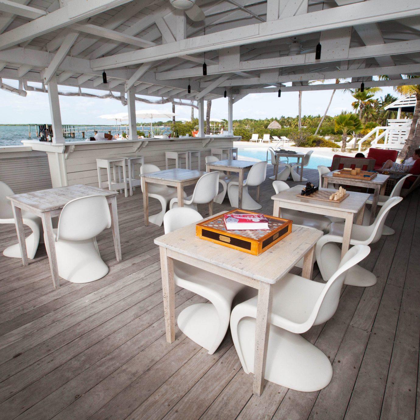 Boat chair vehicle yacht passenger ship watercraft restaurant ship Resort Deck
