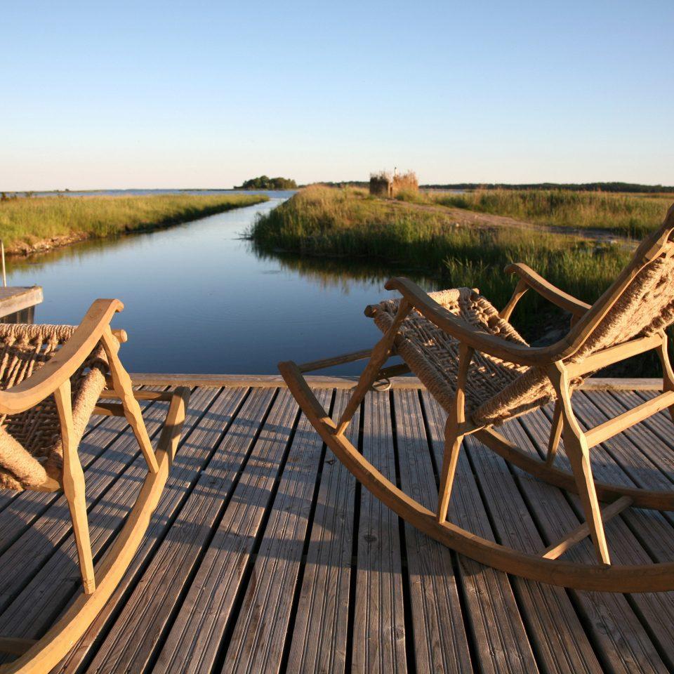 sky water wooden watercraft rowing vehicle Boat set Deck