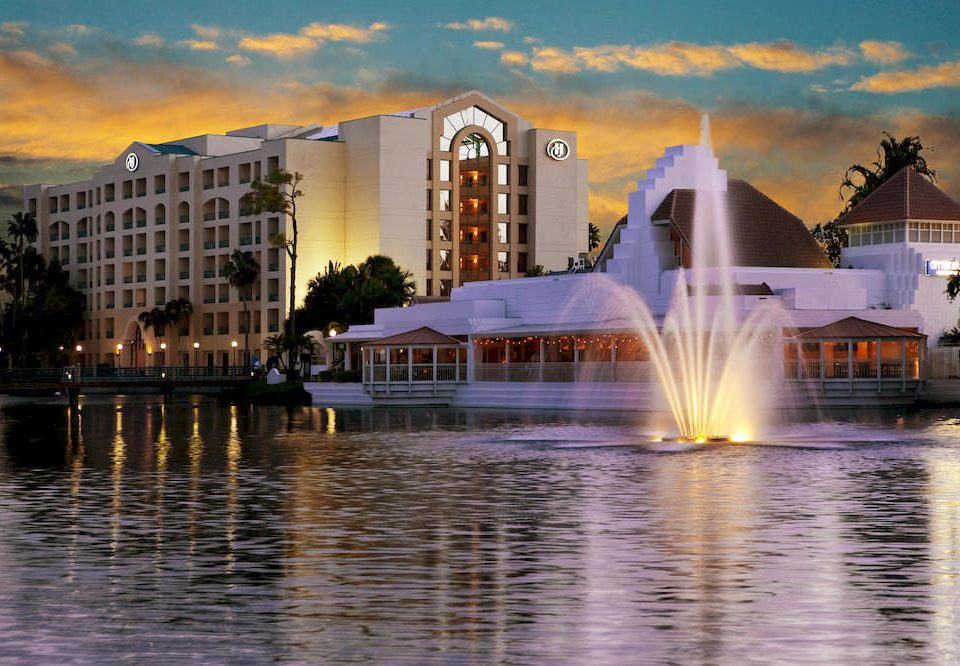 Exterior Family water sky fountain landmark evening morning water feature cityscape dusk sunlight waterway Boat