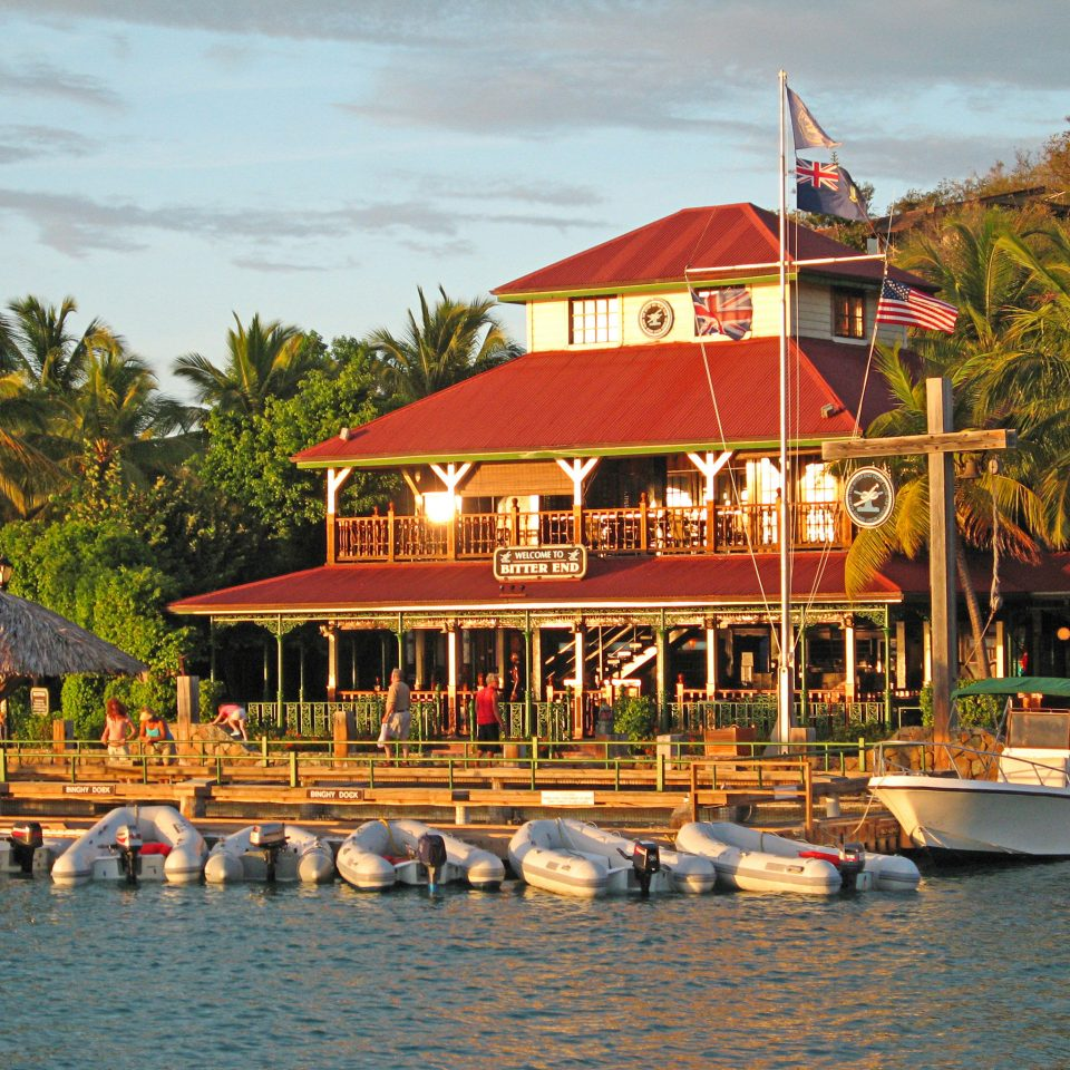 Exterior Tropical Waterfront tree water sky Boat Resort amusement park vehicle Sea boating restaurant
