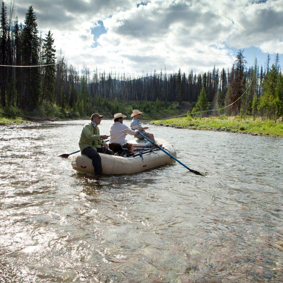 tree water Boat wilderness River vehicle canoe watercraft rowing boating tubing Raft rapid Lake waterway watercraft paddle Forest wooded