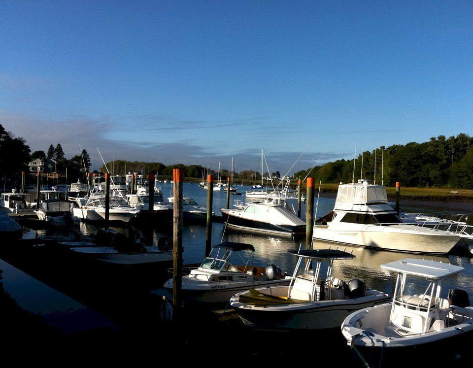 sky Boat water marina dock vehicle scene Harbor docked yacht waterway port watercraft tied day