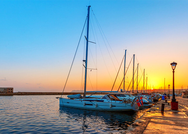 sky Boat water scene Harbor Sea vehicle marina sailboat dock sail pier Sunset Ocean evening watercraft sailing mast dusk port sailing ship docked