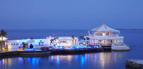 water sky Boat scene Harbor Resort Sea marina vehicle dock palace distance