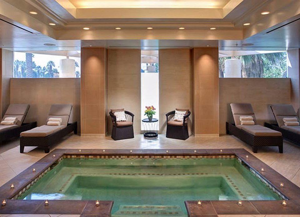 Hot tub/Jacuzzi Lounge Luxury Pool recreation room billiard room swimming pool property pool table poolroom yacht green Boat Resort mansion Lobby