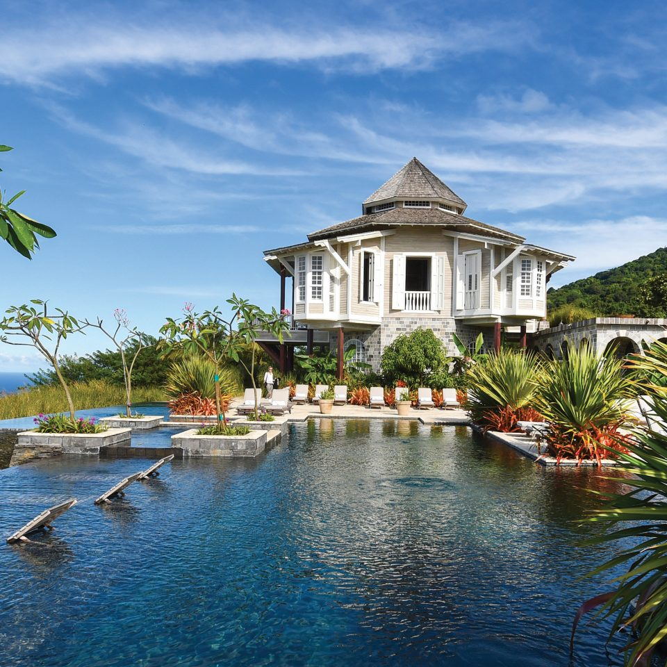 Trip Ideas water sky tree house Boat Nature Lake Resort Sea swimming pool surrounded pond Island