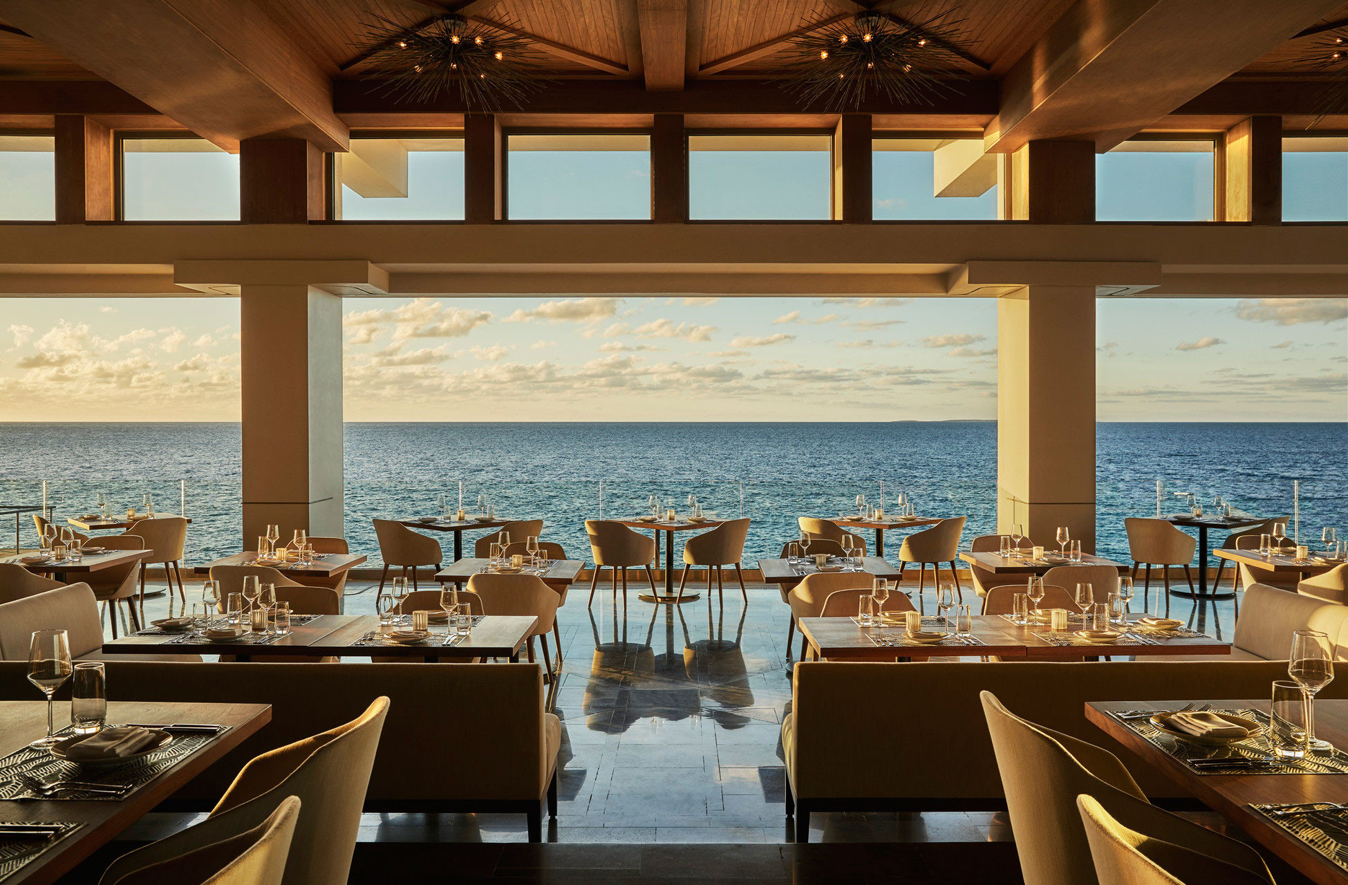 chair restaurant yacht passenger ship Resort Boat luxury yacht function hall Island