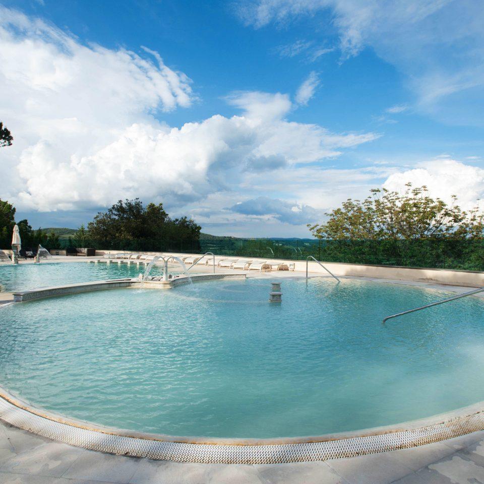 sky water swimming pool Boat reef property Nature Lake Sea Resort Lagoon backyard Villa empty swimming shore day