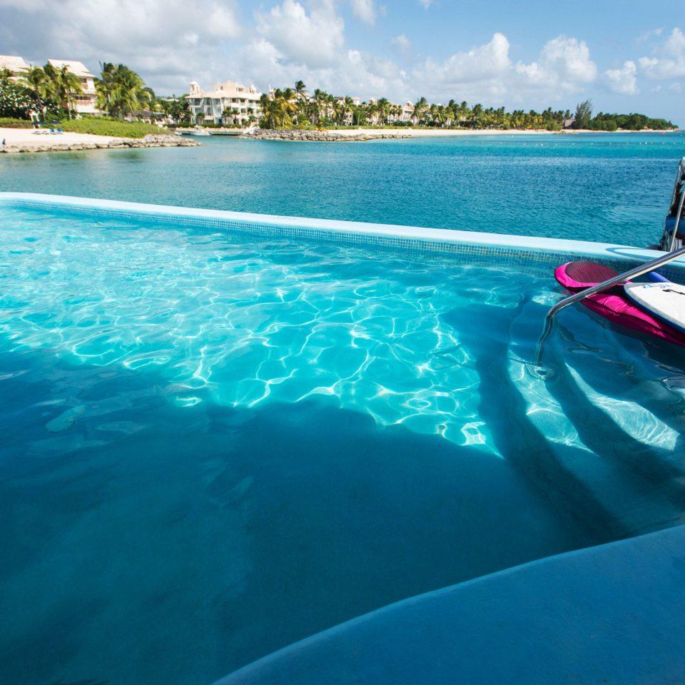 water sky Boat swimming pool Sea Ocean Nature Lagoon vehicle reef blue swimming