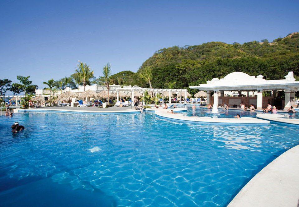 water sky Pool swimming swimming pool Boat leisure property Resort Nature blue resort town Lagoon Villa reef caribbean Sea shore