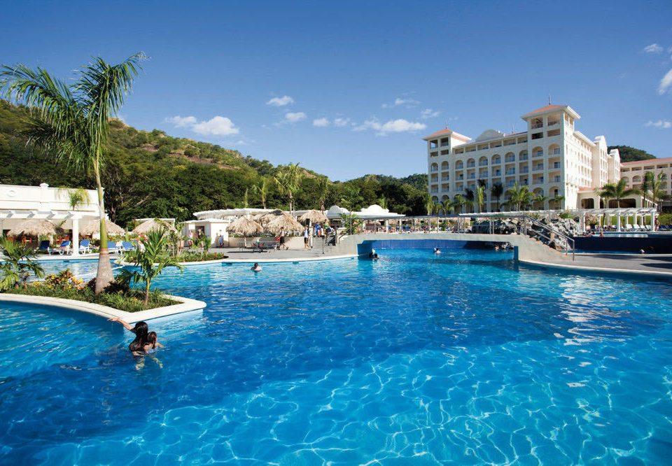 water Pool swimming Boat swimming pool blue property leisure Resort resort town Villa Lagoon