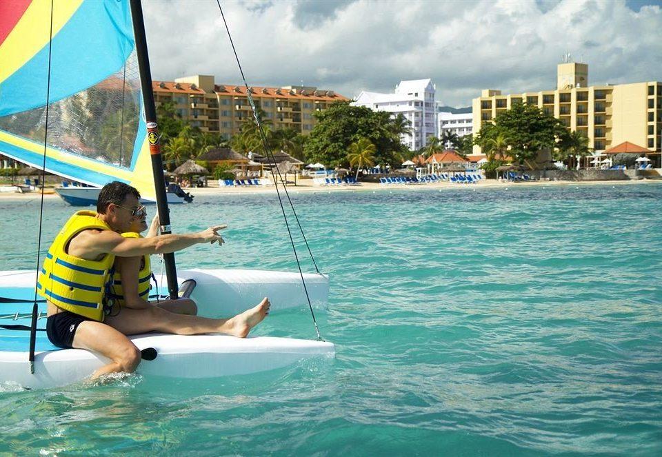 water leisure sailing Sea boating windsurfing sports vehicle Boat sail caribbean sailboat Lagoon
