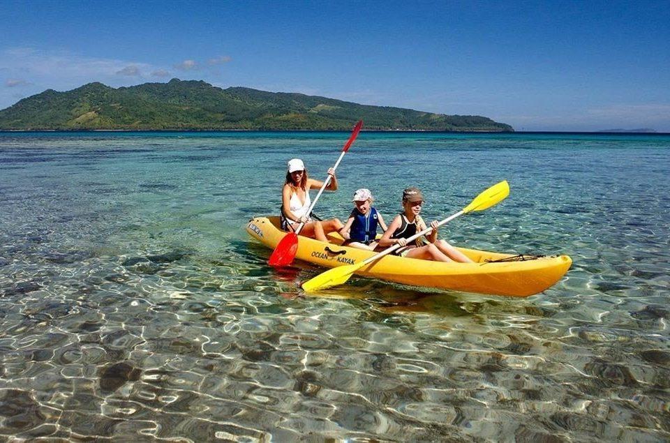 water sky sea kayak Boat kayaking boating kayak vehicle yellow Lake watercraft rowing sports equipment Sea paddle watercraft sports