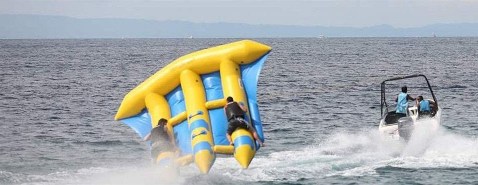 water sky Ocean boating vehicle sailing powerboating Boat sports inflatable boat marine mammal wind