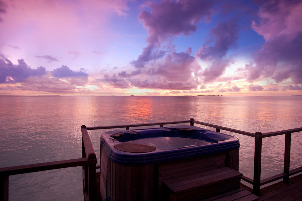 water sky pier Sea Sunset horizon passenger ship overlooking scene Boat vehicle Ocean evening sunrise dusk yacht caribbean