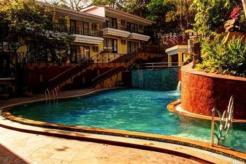 water swimming pool property building Boat Resort Pool house resort town Villa backyard eco hotel swimming surrounded