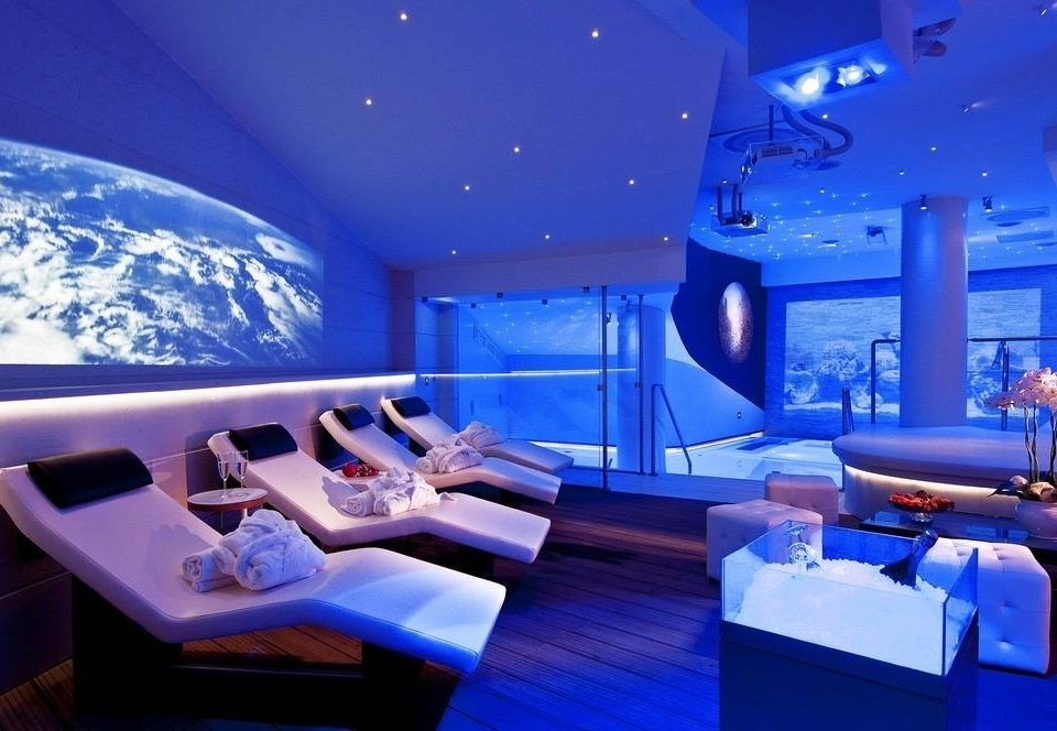 blue swimming pool yacht function hall luxury yacht convention center nightclub Boat restaurant Resort