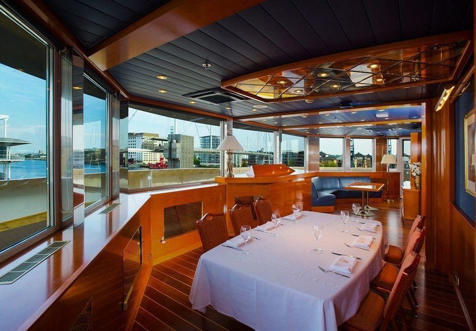 Boat vehicle passenger ship ship yacht restaurant watercraft luxury yacht Resort roof