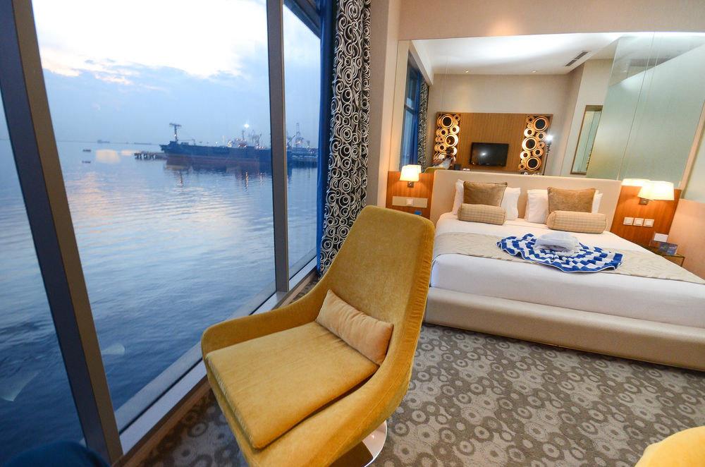 Boat property passenger ship yacht vehicle watercraft luxury yacht Suite ship Villa Resort living room