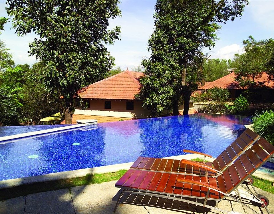 tree sky swimming pool leisure property Resort backyard Villa home outdoor structure cottage Boat