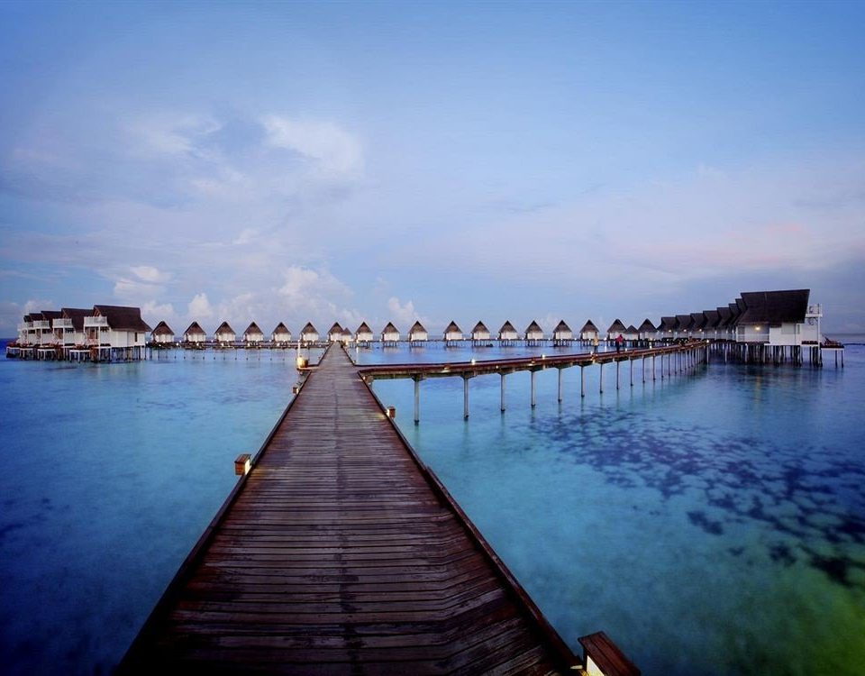 water sky scene Boat Sea dock pier horizon wooden morning River dusk evening vehicle bridge docked surrounded