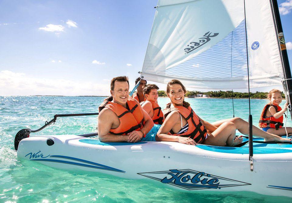 sky water dinghy sailing sailing Boat vehicle watercraft sail sports boating dinghy windsports Sea