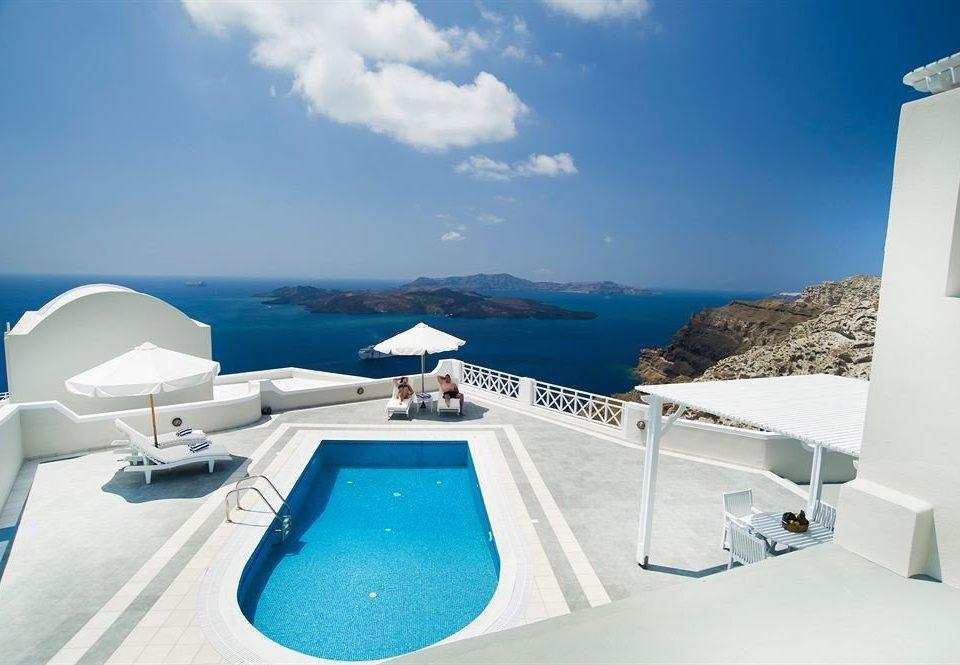 sky passenger ship vehicle Boat ecosystem yacht luxury yacht swimming pool Sea caribbean ship watercraft