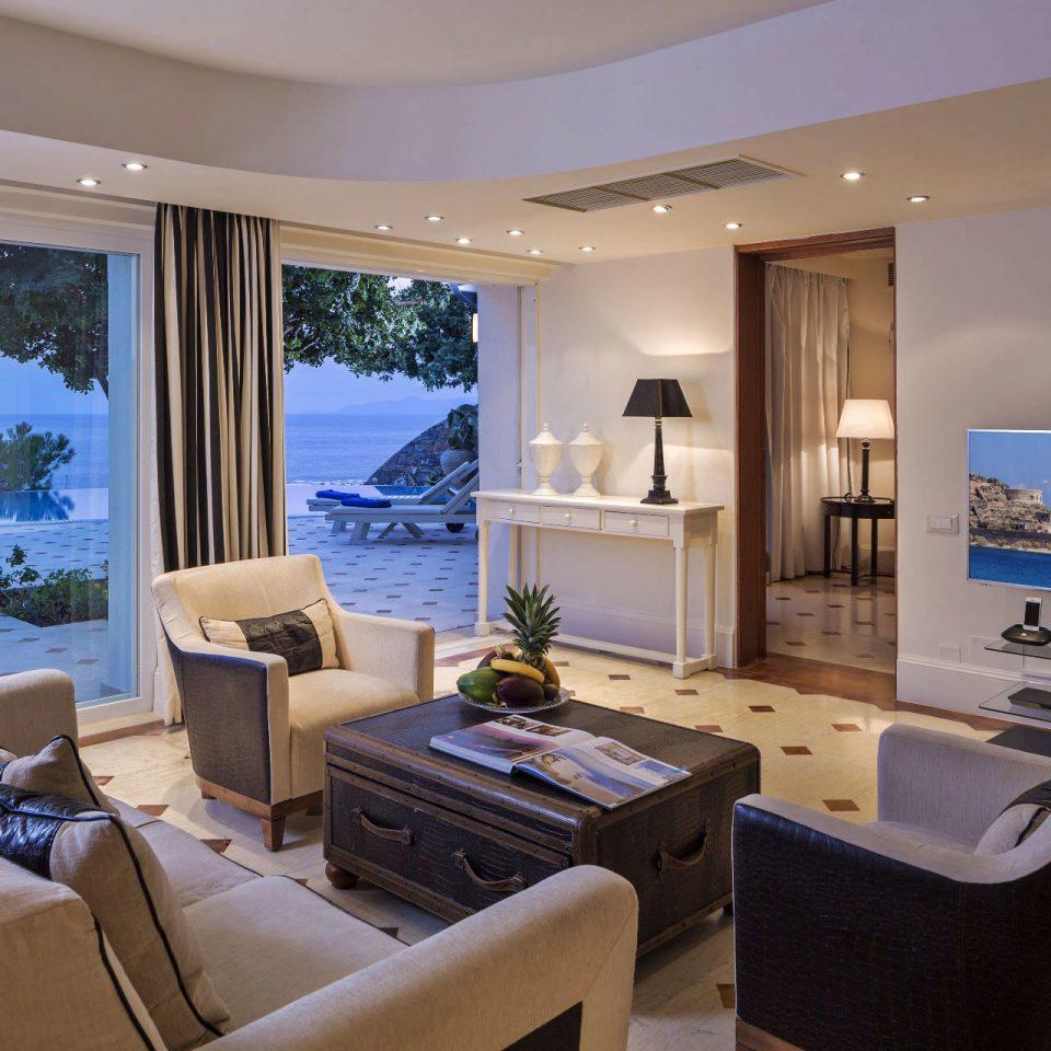 property condominium yacht home living room Suite white Villa passenger ship luxury yacht Boat